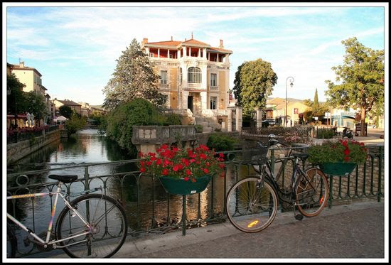 river town near provence France