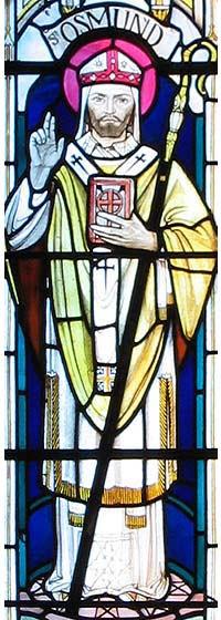 Saint Osmond, Evêque d'Old Sarum († 1099)