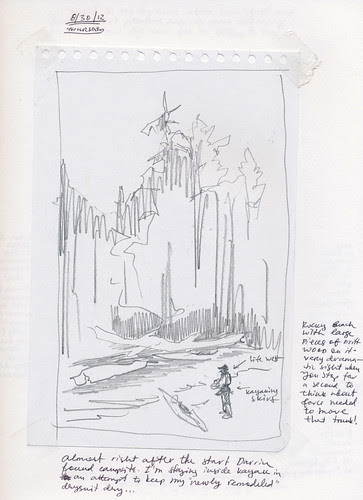 Alaska 2012: South Baranof Wilderness - Sketching from a Sea Kayak