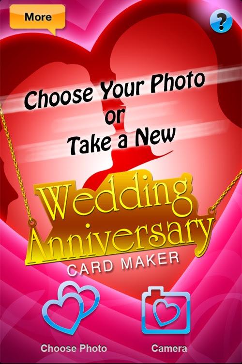 Wedding Anniversary Card Maker Pro Send Romantic Happy Marriage