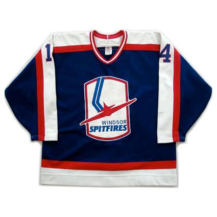 Windsor Spitfires jersey