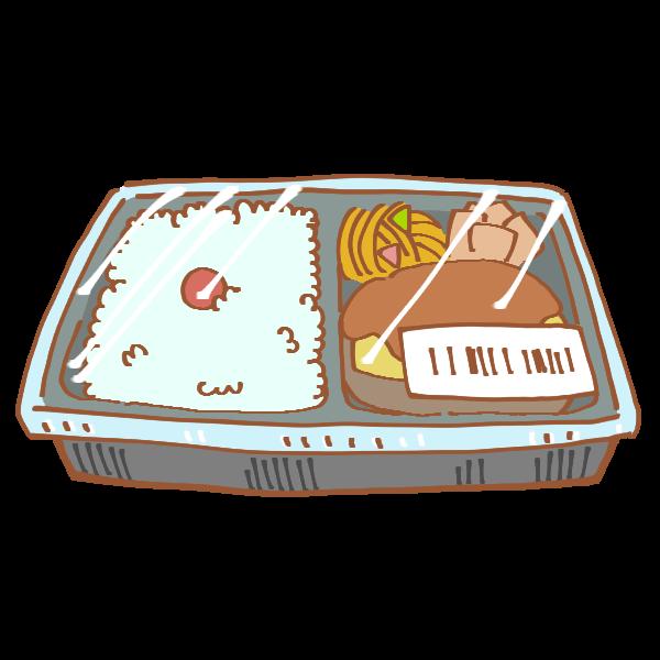 コンビニのお弁当のイラスト かわいいフリー素材が無料のイラストレイン