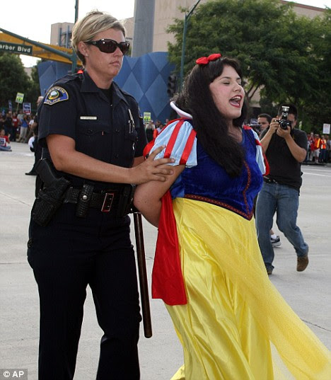 Snow White arrest