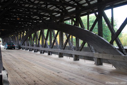 Inside the Saco River Bridge