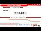 Lirik Lagu Desaku (Wajib Nasional) Ciptaan L Manik