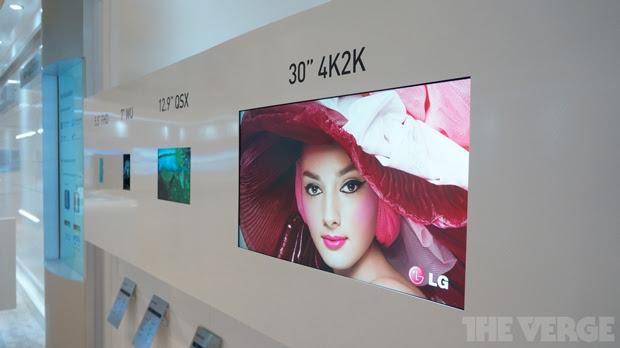 Monitor da LG tem resolução 4K, 30 polegadas e é destinado para profissionais de imagem (Foto: Reprodução)