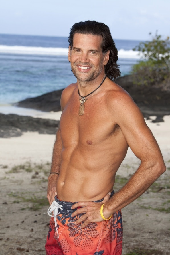 Troy--Survivor One World, who says 50 year old men can't be hot???