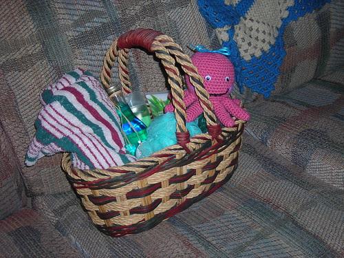 Octopus in Basket