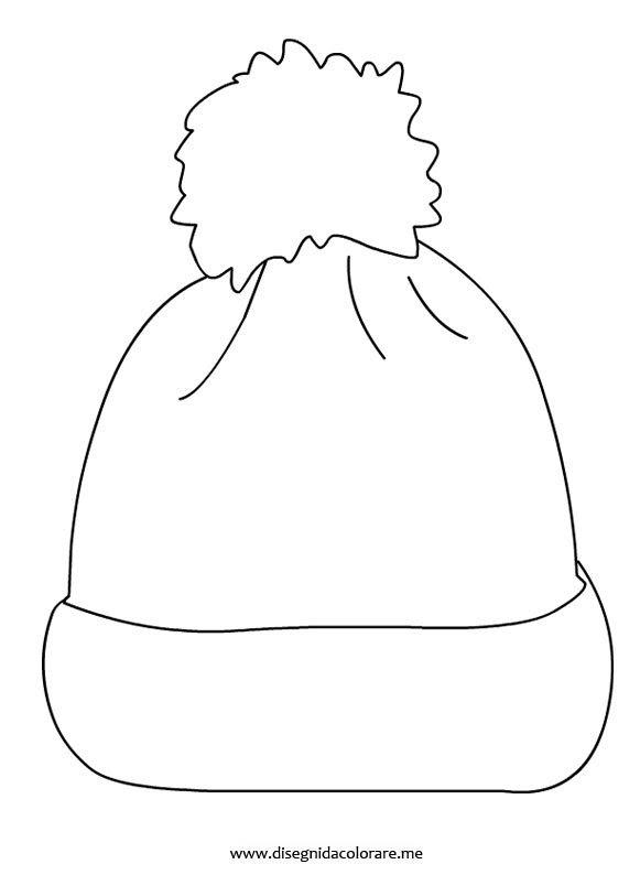 Cappello Di Lana Disegni Da Colorare