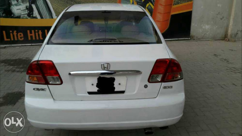 2015 Honda Civic For Sale In Lahore