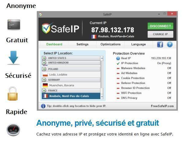 Free Safe Ip Avis