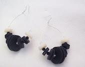 ETHNIC hoop earrings