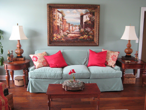 London Sofa by Posh Living LLC eclectic living room