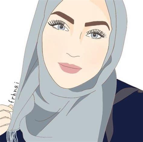 hijab girl drawing recherche google islam pinterest