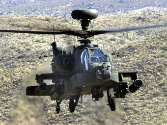 AH-64D Apache Longbow. Фото с сайта militarypictures.info