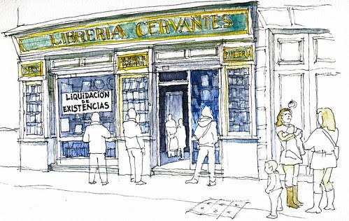 Libreria Cervantes Urban Sketchers