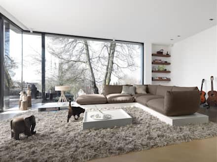 Modernes Wohnzimmer Bilder Wunderbar On Modern Mit ...