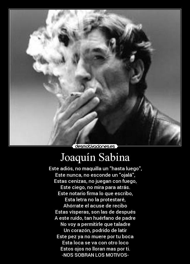Joaquin Sabina Desmotivaciones
