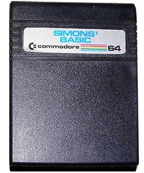 cartucho simon´s basic c64