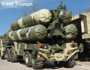 S-400 anti-air defense system.