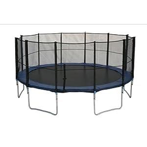 quel trampoline de loisirs choisir avis alice 39 s garden trampoline rond 490cm et son filet. Black Bedroom Furniture Sets. Home Design Ideas