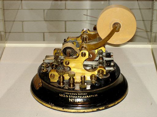 Edison Stock Telegraph Ticker