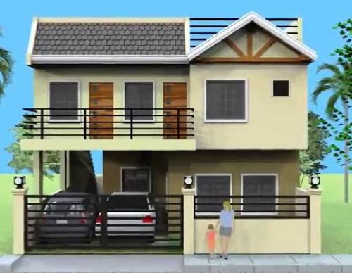 Gambar Model Pagar Minimalis Terbaru Kokoh Megah Jualbogor Besi Lantai 1 Di  Rebanas - Rebanas