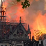 Notre-Dame de Paris détruite