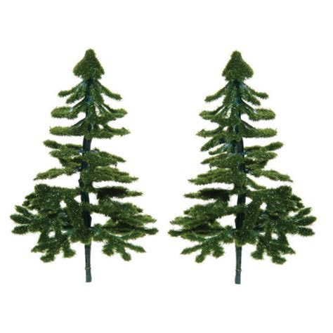 Miniature Artificial Pine Trees   Christmas Miniatures