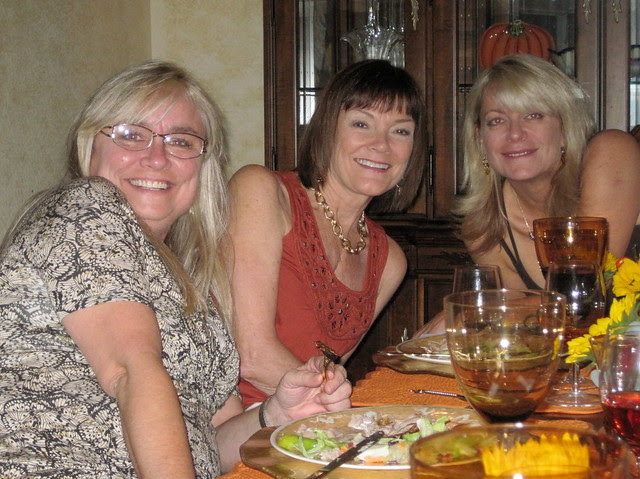 Liz, Janie and Sharon