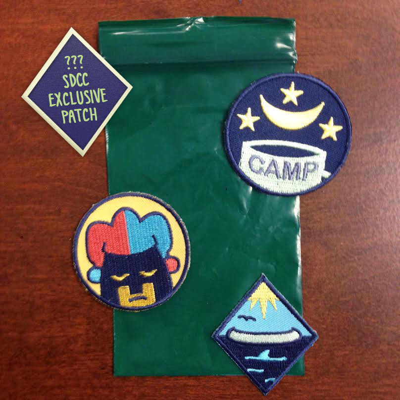 Lumberjanes SDCC Badges