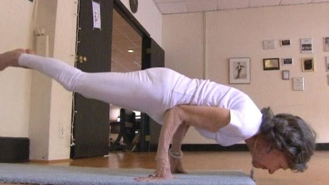 World's oldest yoga teacher Tao Porchon-Lynch at 93
