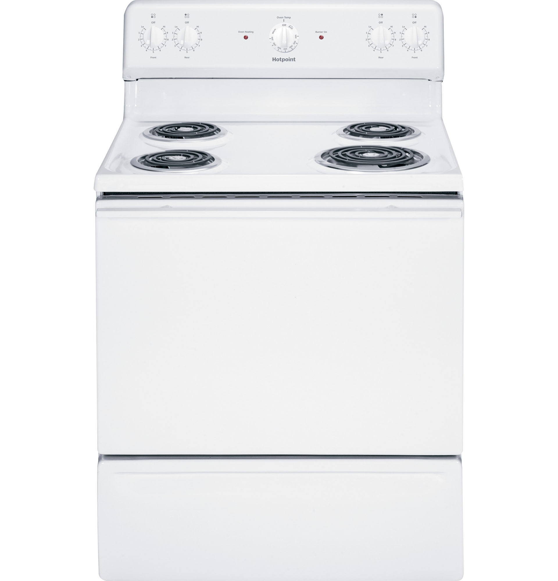 "UPC GE Hotpoint 30"" White Free Standing Electric"