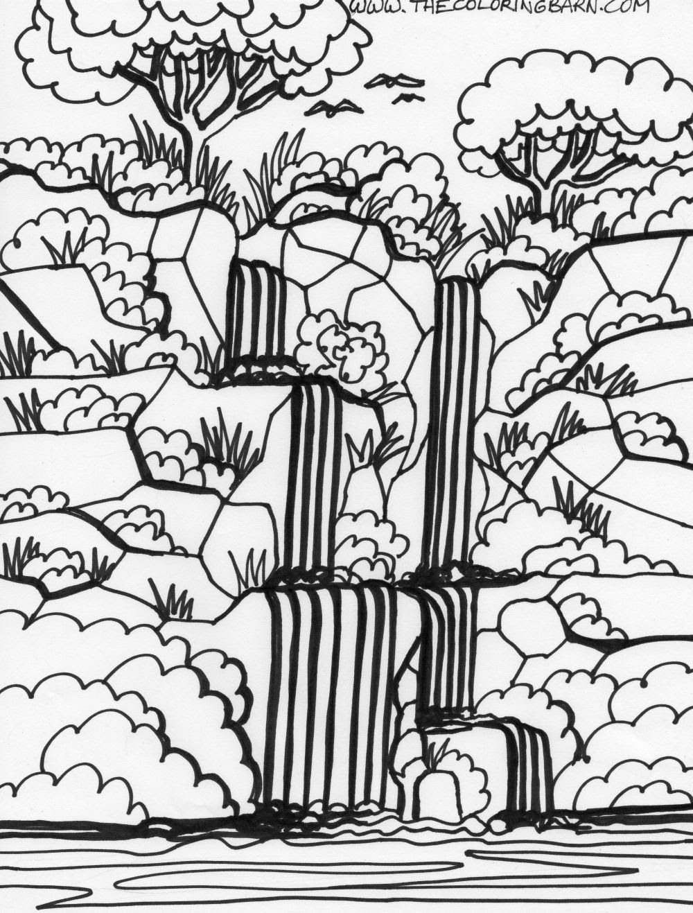 Tropical Rainforests Coloring Pages - Coloring Home