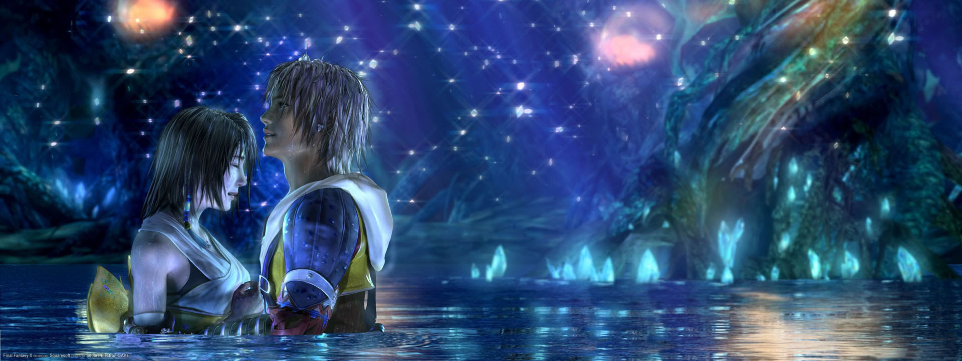 Final Fantasy Dual Screen Wallpaper Anime Top Wallpaper