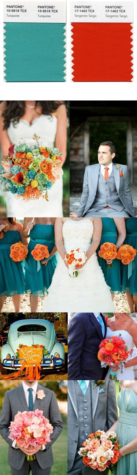 Get inspired with this inspiration board for a Tangerine