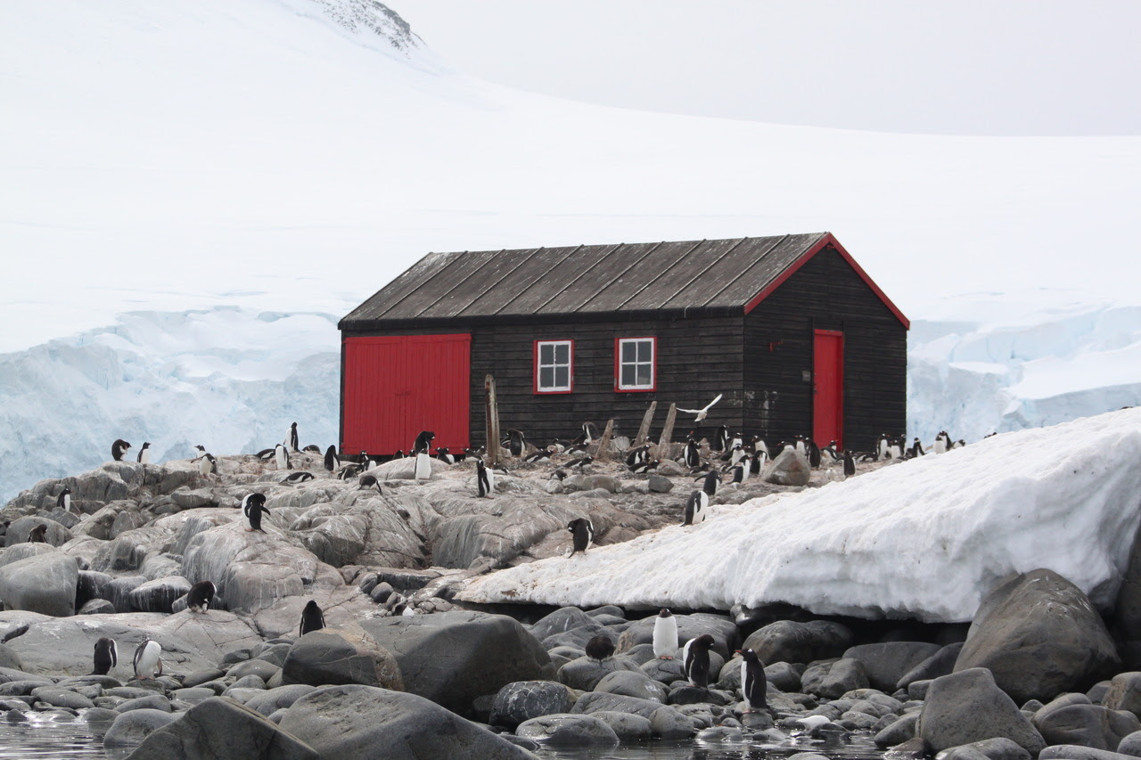 Research cabin, Antarctica Submitted by Joshua Shapiro