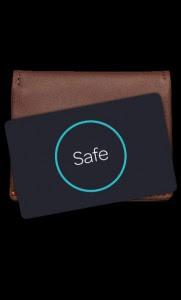 wallet black bg