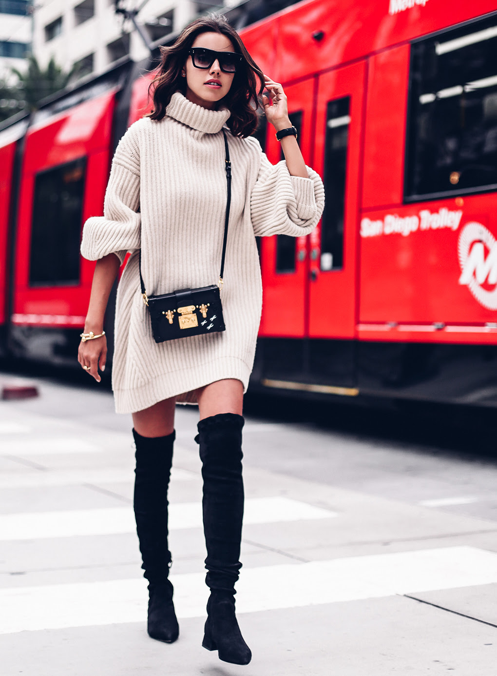 sixteen ways to wear overtheknee boots  2016 footwear recap