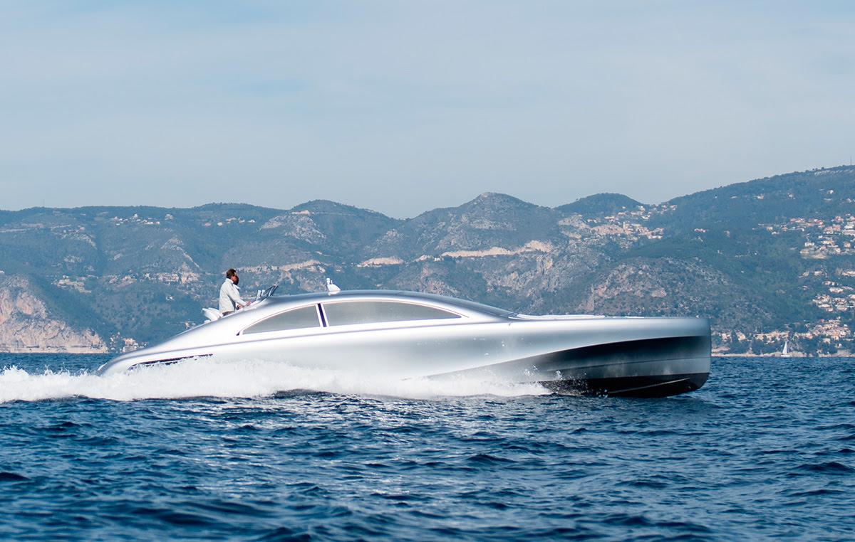 Mercedes-Benz speedboat: Arrow 460GT hits the water ...