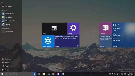 Tutorial Singkat Cara Mengubah Start Menu Windows 10 Menjadi Full Screen