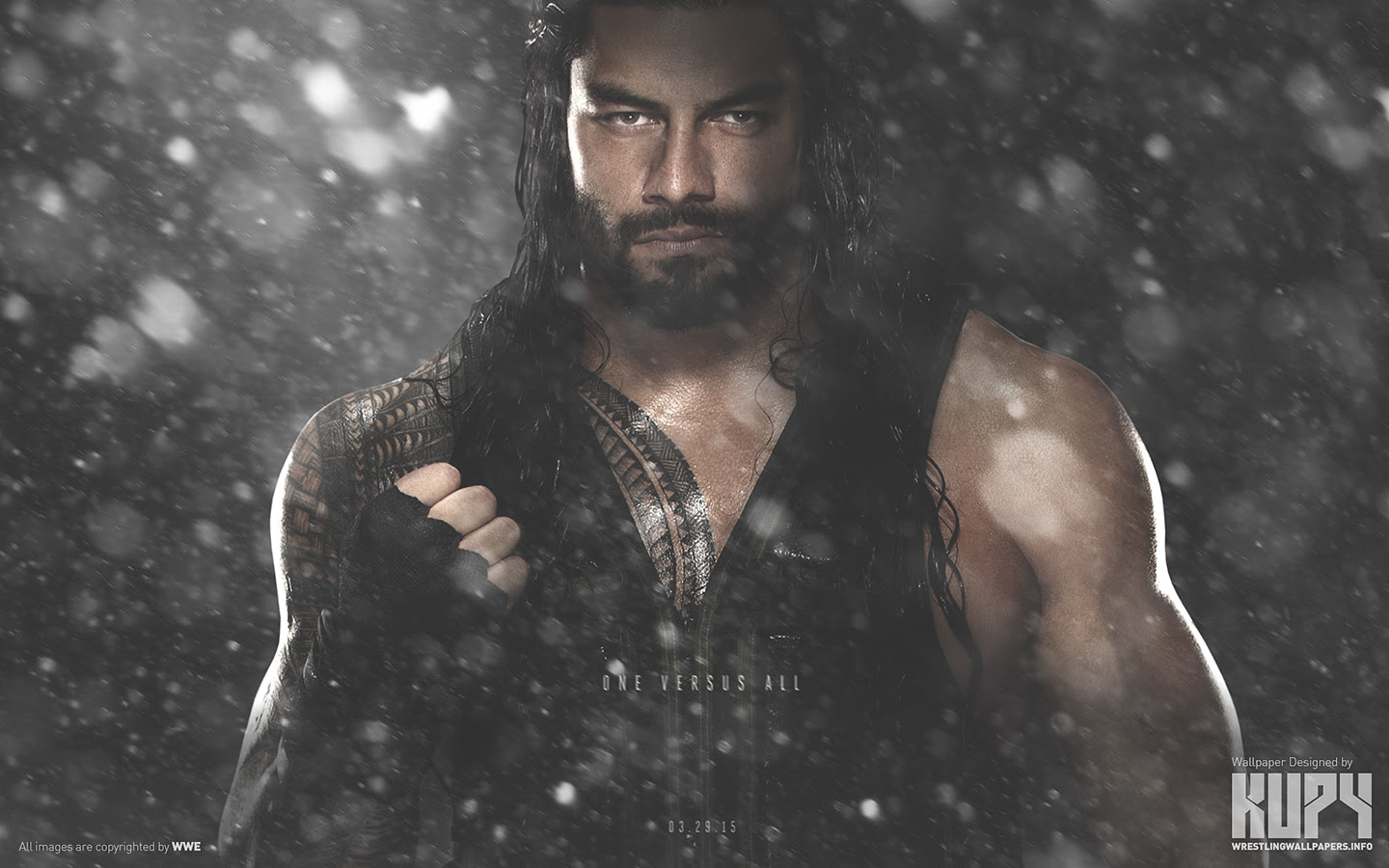 Roman Reigns  Royal Rumble 2015 Winner  WWE Wallpaper