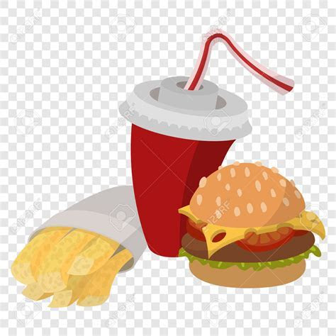 Burger clipart transparent background   Pencil and in