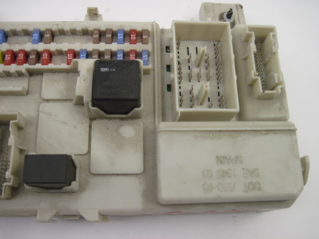 Volvo V50 Fuse Box Diagram
