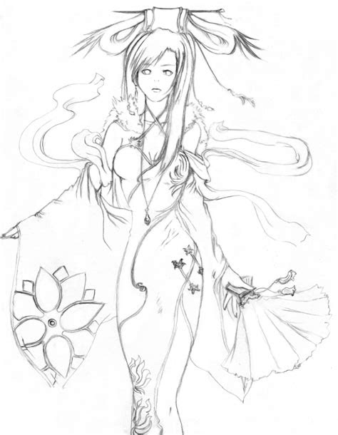 draw  fairy princess easy