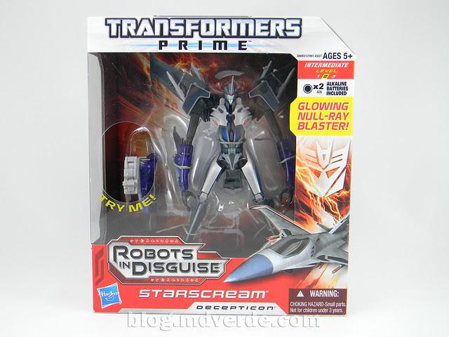 Transformers Starscream Voyager - Prime RID - modo