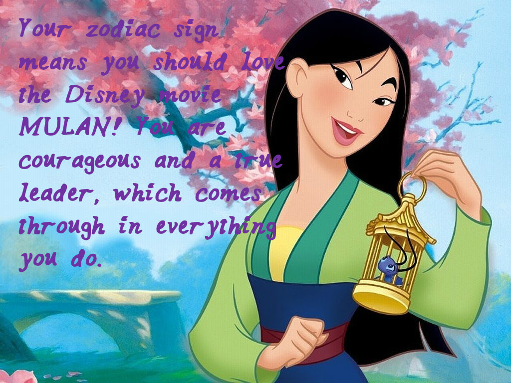 Here s What Your Favorite Disney Movie Should Be According To Your Zodiac Sign