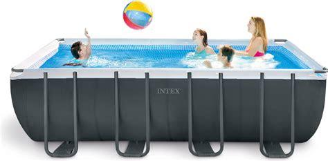 intex frame pool ultra quadra xtr      cm