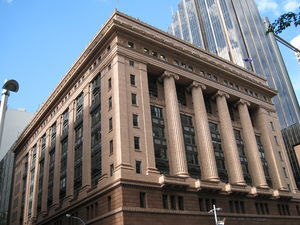 State Savings Bank building in Martin Place, S...
