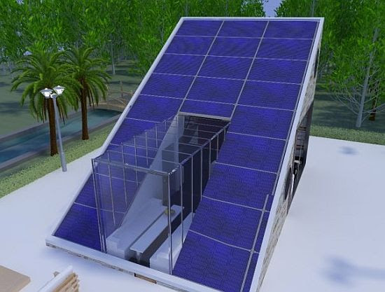 Solar energy installation, panel: Solar power house designs